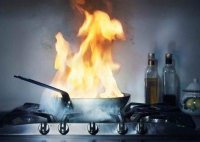 Qué hacer en caso de incendio en la vivienda